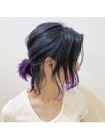 コースト(Coast.)Coast.アニ髪×ポニーテール×バイオレットカラー×紫