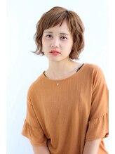 リプレイ(replay)アシメ前髪で、オトナ可愛く!