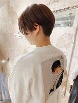 マギーヘア(magiy hair)magiyhair【nico】下北沢耳出し小顔ショート&グレージュ