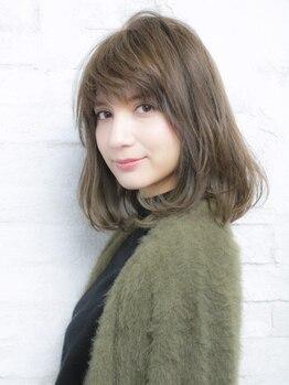 フィールルーチェ(Feel luce)の写真/「白髪染めも楽しみたい」今までにない艶、透明感!ダメージレスに◎