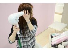 ヘアカラーカフェ 西武柳沢店(HAIR COLOR CAFE)の雰囲気(セルフブロー&セルフスタイリング♪スタイリング剤も豊富!)