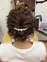 Hair salon W/結婚式☆ヘアアレンジ