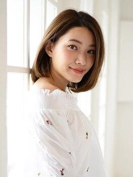 アース 二俣川店(HAIR&MAKE EARTH)の写真/二俣川◆18時迄受付☆いつでも綺麗を保って頂きたいから、お仕事帰りでも大歓迎です☆