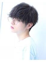 リップス 渋谷(LIPPS)ブリーチなしブルー系カラー【サファイアマッシュ】