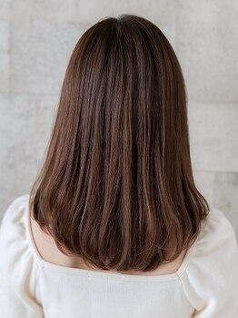 ソラネル(SOLENNEL)の写真/【ベルモール前】酸熱トリートメントで叶える[髪質改善]業界最先端の技術で、自分史上最高の美髪に。