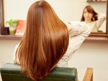 エンダーン(Andern)の写真/美髪チャージ★【サイエンスアクア】で毛先まで潤う髪に!圧倒的な艶で、自分史上最高の美しい髪へ。