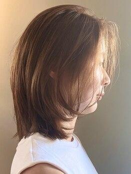 ラーサ(LaHzA)の写真/【桜山】美髪を作るには、土台である頭皮のケアが大切!美しい髪は、美しい頭皮から。髪を綺麗にして艶髪に!