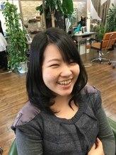 ヘアスタジオ アンジェリカ(Hair Studio Angelica)ふんわりワンカールスタイル