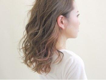 ヘアーサロン リベット(hair salon Libett)の写真/加古川★自然なカラーを楽しみたい大人女性に…主張しすぎない上品なデザインカラーをご提案!