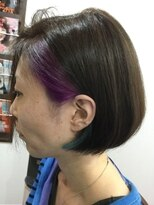 レザボア ヘアーアンドビューティー ハイブ店(reservoir Hair&Beauty Haibe)ショートボブ  ショート