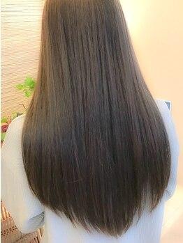 ヘアセラピー サラ(hair therapy Sara)の写真/ダメージレス&さらさらの質感に◎アイロン不使用の縮毛矯正!!6種類のトリートメントでかける[ナチュレート]