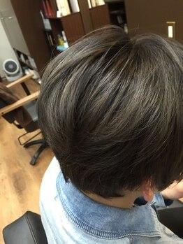 クランヘアー(clan hair)の写真/【矢幅駅2分】計算し尽くした技術で、深みのある透明感・従来にない明るさで理想のスタイルを実現◎