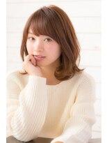 アイナ 銀座(Aina)斜め前髪×ナチュラル」パーマで可愛く【Aina伊藤彩】
