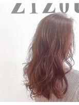 ヘアーアンドメイク ジズー(hair&make zizou)ピンクグラデーション