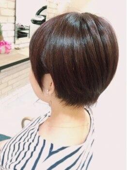 ブレッザヘアー(Brezza hair)の写真/お客様1人1人の骨格や髪質に合わせたStyleをご提案します!毎日のスタイリングも簡単に♪