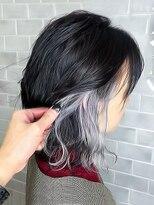 オーブ ヘアー レーン 滋賀草津店(AUBE HAIR lean)【AUBE HAIR】シアクールインナーカラー_セシルカット