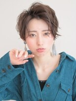 アグ ヘアー ドレス 喜久田店(Agu hair dress)ゆるふわ無造作なハンサムショート
