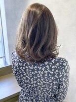 ローラン(ROULAND)【ROULAND石川】 透け感カラーナチュラル外ハネカール