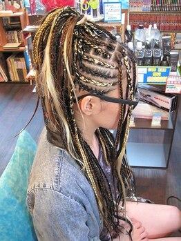 ボンゴ BONGOの写真/《最高品質の人毛100%》絡みにくく、もちが良い!!豊富な色・種類で、幅広いスタイルにも対応可能☆