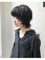 ホワイト 梅田(white)黒髪マッシュレイヤー