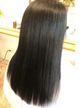 サロン ド リッセ(salon de Lisser)の写真/エリアで希少な<サイエンスアクア>取扱店☆縮毛矯正でもシステムトリートメントでもない新しい髪質改善!