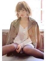 ラベリー(LOVELEY)LOVELEY クリーミーベージュショートボブ☆428
