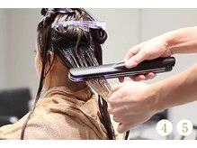 グッドネス ヘアー ガレージ(GOODNESS hair GARAGE)の雰囲気(トリートメントの成分を髪の深層部まで運び、効果を引き上げます)