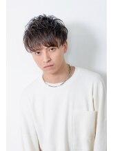 グラ デザインアンドヘアー 天王寺店(GRAS DESIGN&HAIR)【GRAS】メンズ束感マッシュ