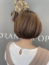 オレンジポップ 南行徳店(ORANGE POP)髪質改善×ミニボブ