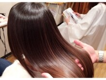 ヘアーエゴアンバー(HAIR EG-O Amber)の雰囲気(お客様の髪質にあった3種類の縮毛矯正をご用意しております。)