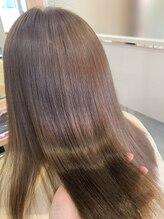 艶のある髪になる!超音波アイロンケアプロを使ったサプリトリートメントが自慢!