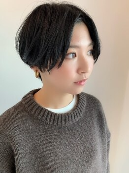 ロコピカロ ミュゼ(LOCOPICARO MUSSE)の写真/【西条☆】ショートにするのが初めてという方にオススメ★シルエットにこだわったスタイルで理想のヘアに♪