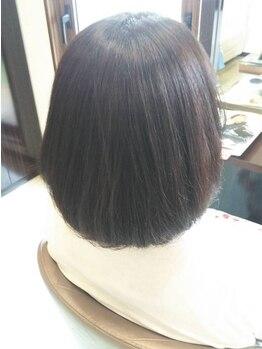 スプリング(Spring)の写真/【縮毛矯正フロント・前髪カット付¥5,500~】リーズナブルなお値段◎毎日のお手入れが簡単に!