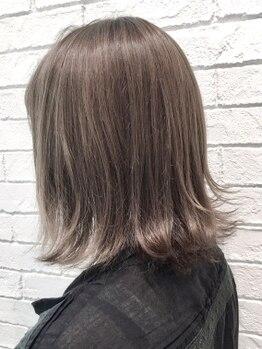 スページ(Spage)の写真/超音波ナノアミノカラーで髪質UP!ダメージが気になる方に◎【cut+超音波ナノアミノカラー¥8400】