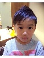 ヘアーメイク プラスネイル ジャム イップク(Hair Make +Nail JAM IPPUKU)kid's アシンメトリー・ツーブロック