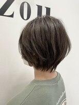 ヘアーアンドメイク ジズー(hair&make zizou)大人かわいい マッシュショート