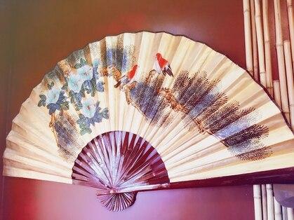 ヘアー サロン 禅 花鳥風月の写真