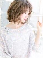 ■スローカラーフレンチカーリー小顔ボブ52-10上尾20代30代40代