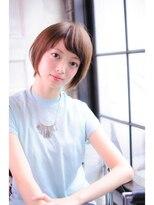 ミンクス 青山店(MINX)2018本田翼風ショートヘア
