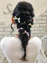 ヘアーグランデシーク(Hair Grande Seeek)ゆるふわ編み込みSET♪