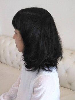 スプリング(Spring)の写真/髪と地肌にやさしいカラー剤を使用☆仕上がりはもちろん、時間がたったあとも考えて施術します!