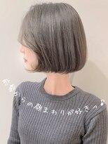 ビューティーコネクション ギンザ ヘアーサロン(Beauty Connection Ginza Hair salon)ことりベージュショートレイヤーコンマヘア20代30代40代◎田邊
