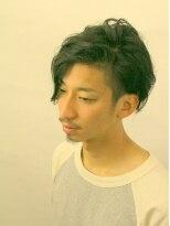 【GRANDE】『SymmetryCalm』men's★ミディアム★パーマstyle