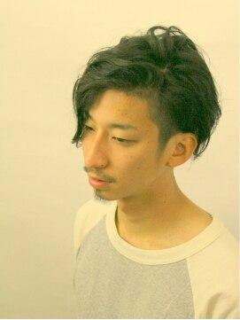 グランデ(Grande)【GRANDE】『SymmetryCalm』men's★ミディアム★パーマstyle