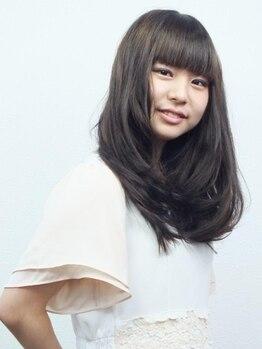 ヘアメイクライズ(Hair Make RIZE)の写真/カット+イルミナカラー¥8100◆人気のイルミナカラーで透明感/艶感/柔らかさのある最旬Styleへイメチェン!
