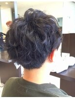 【AMAZING HAIR美沢店/桜井】スパイラル メンズショート