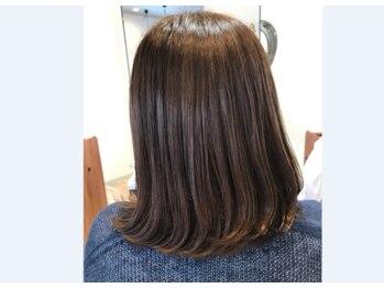 ヘア アトリエ プルトア(hair atelier Pourtoi)の写真/最高級スパTR「エステシモ」。本来持っている素材美を引き出しカラー後でもダメージレスなヘアが叶う!