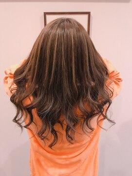 グランヘアー 南店(GRAN HAIR)ナチュラル☆ハイライト       【GRAN HAIR】