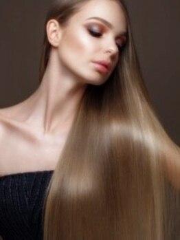 ヘアー ラウンジ コン モア(hair lounge Comme moi)の写真/【本物志向の大人女性に】エイジングケアには髪質補正トリートメントが◎美髪を手に入れて若々しい印象へ☆