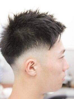 サカイノ(SAKAINO)の写真/バーバーならではの技術!髪だけでなくトータルで清潔感のある男前に仕上げて周りからの好感度をUPさせよう!